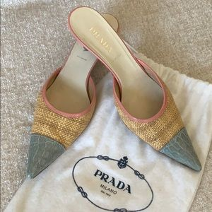 PRADA kitten heels - Made in Italy